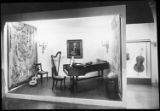 18th century music room, Musical Instruments and their Portrayal in Art exhibition, The Baltimore...