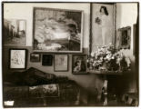 East and south walls in Gertrude Stein and Leo Stein's apartment, Rue de Fleurus, Paris, circa 1906